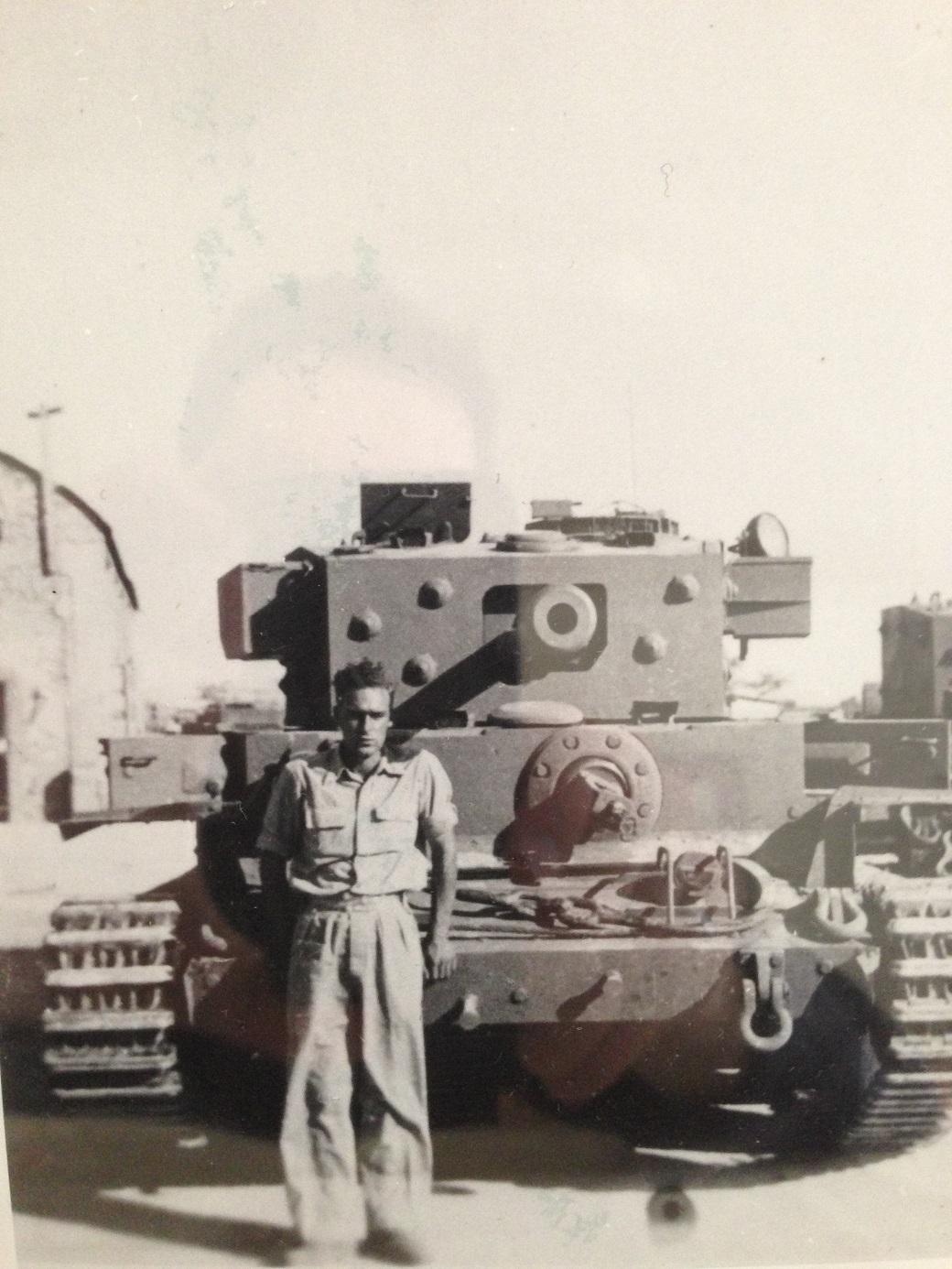 Mike Flanagan (soldat Britannico-Israélien)